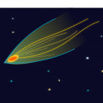 Kometen gespot!