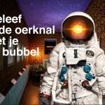 Beleef de oerknal met je bubbel