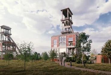 Schachtbok Eisden wordt 'Visitor Center National Park Hoge Kempen' in 2023
