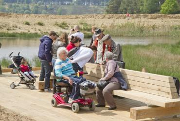 Experiencing nature for people with disabilities