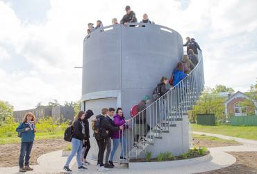 Nieuwe uitkijktoren voor Ecotron